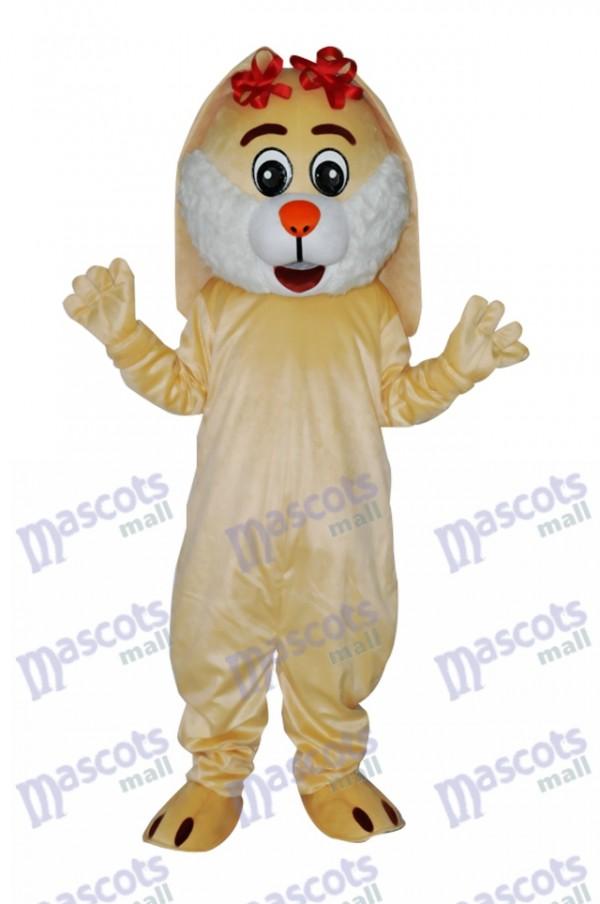 Easter Lovely Rabbit Adult Mascot Costume