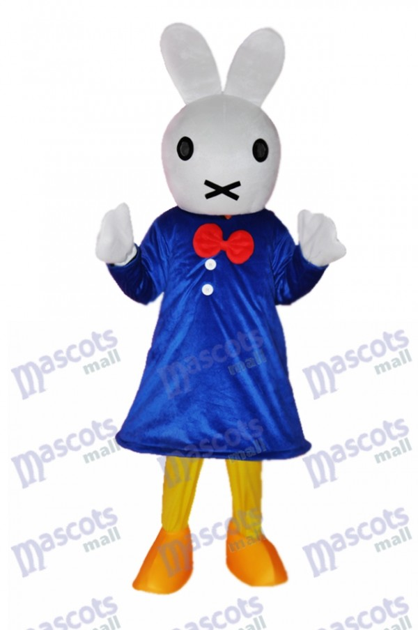 Easter Clever Rabbit Mascot Adult Costume