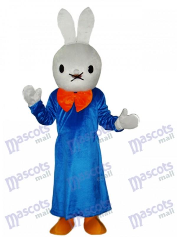 Easter Smart Rabbit Mascot Adult Costume