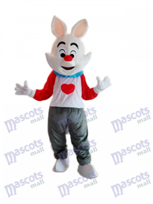 Easter Dada Rabbit Mascot Adult Costume