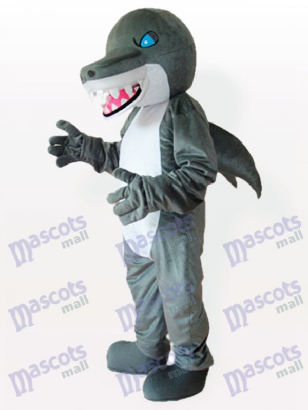 Blue Eyes Shark Adult Mascot Costume