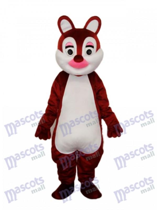 Pink Nose Squirrels Mascot Adult Costume