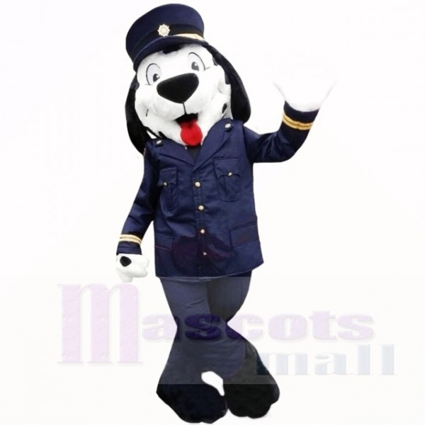Police Uniform Dog Mascot Costumes Cartoon