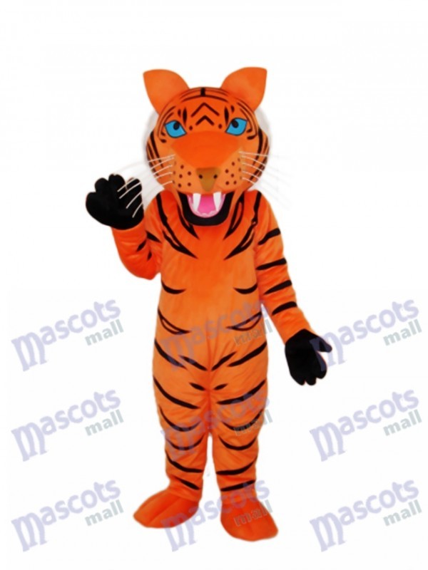 Red Brown Tiger Mascot Adult Costume