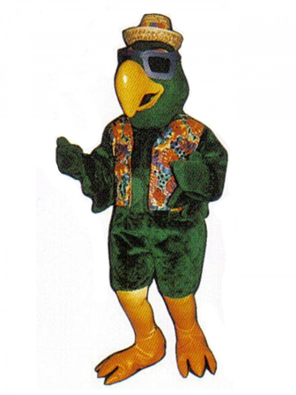 Cute Party Parrot Mascot Costume