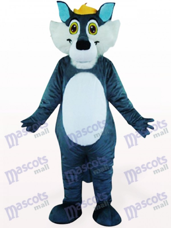 Gray Wolf Animal Mascot Costume