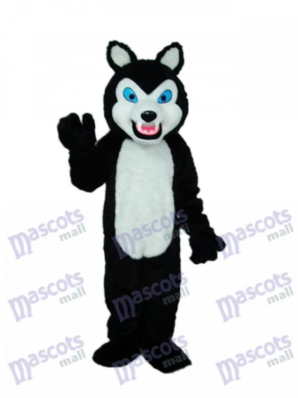 Sharp Teeth Wolf Mascot Costume