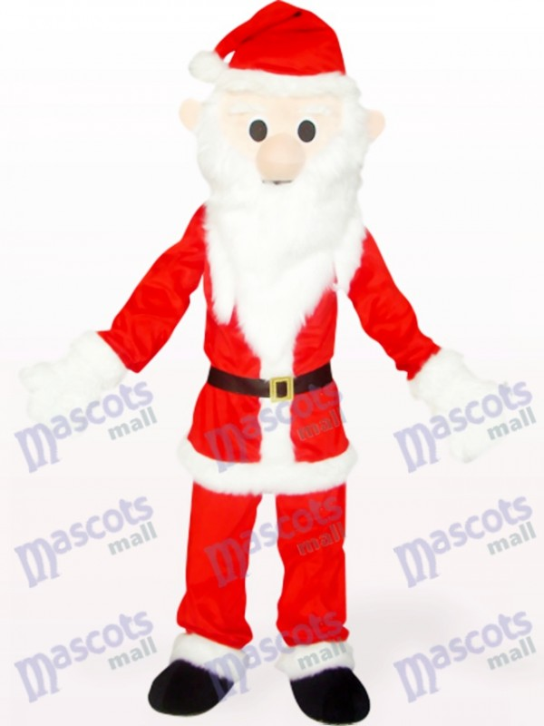 Red And White Christmas Xmas Santa Mascot Costume