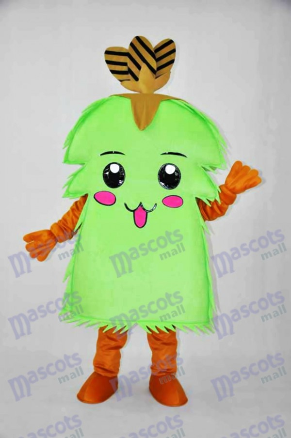 Christmas Tree Elves Mascot Costume Christmas Xmas